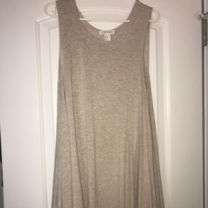 Tan flowy dress - worn once